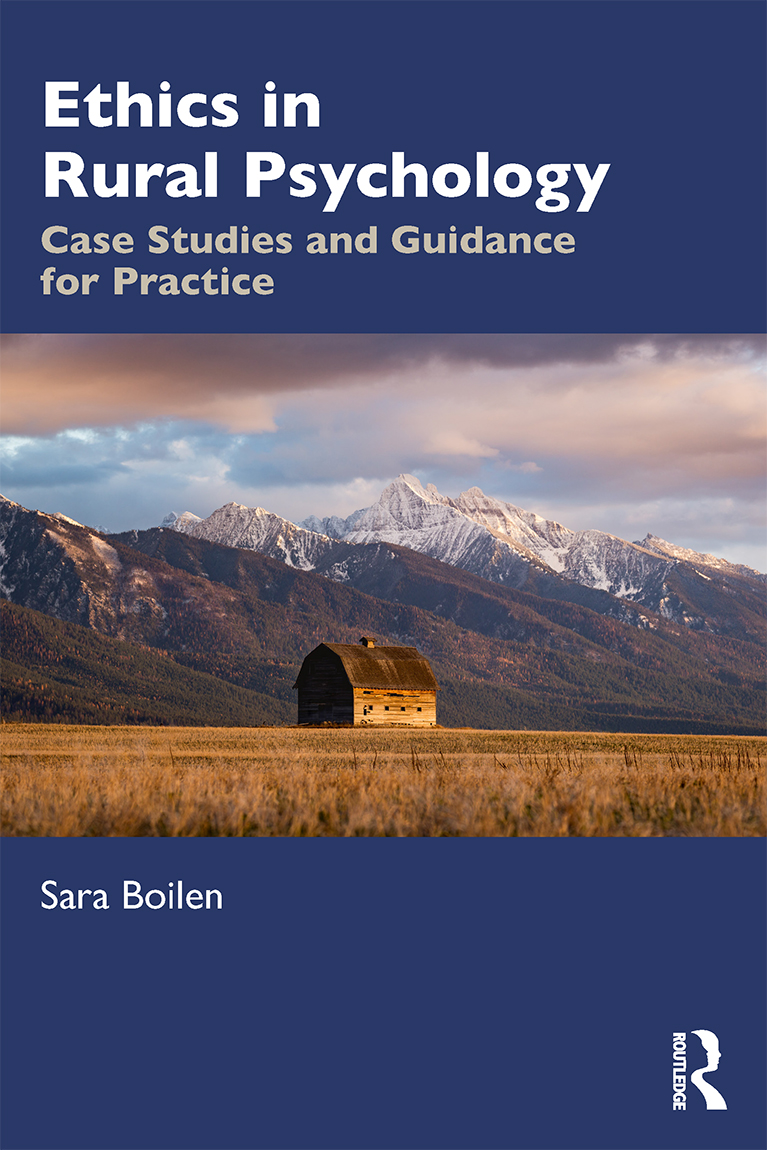Ethics in Rural Psychology: Case Studies and Guidance for Practice book cover