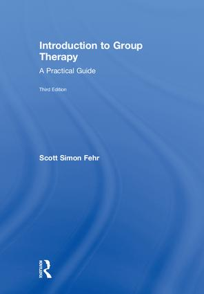 Introduction to Group Therapy: A Practical Guide, Third Edition, 3rd Edition (Hardback) book cover