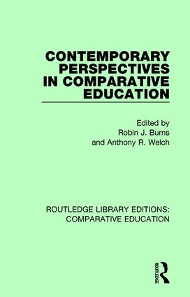 Contemporary Perspectives in Comparative Education book cover