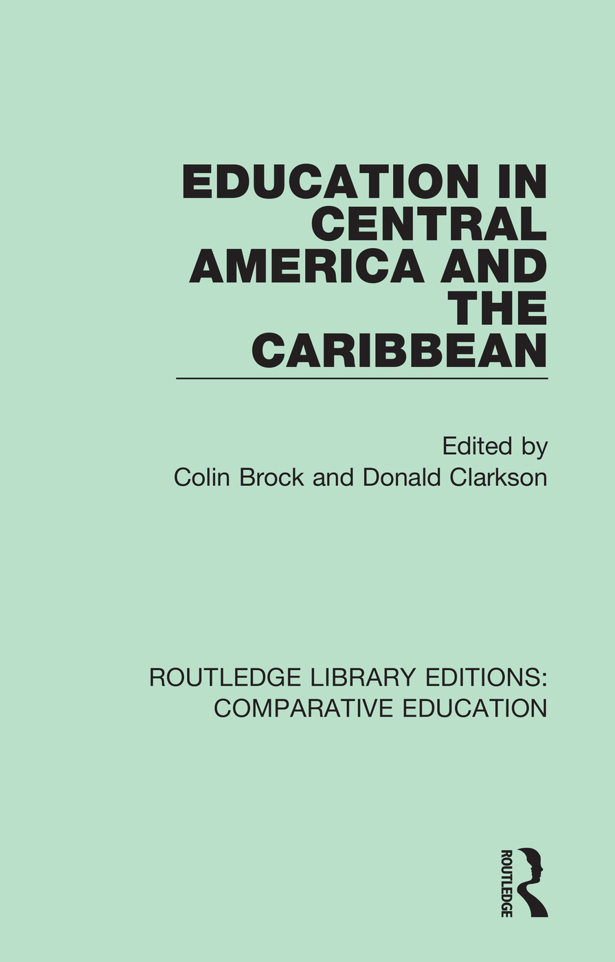 Education in Central America and the Caribbean book cover