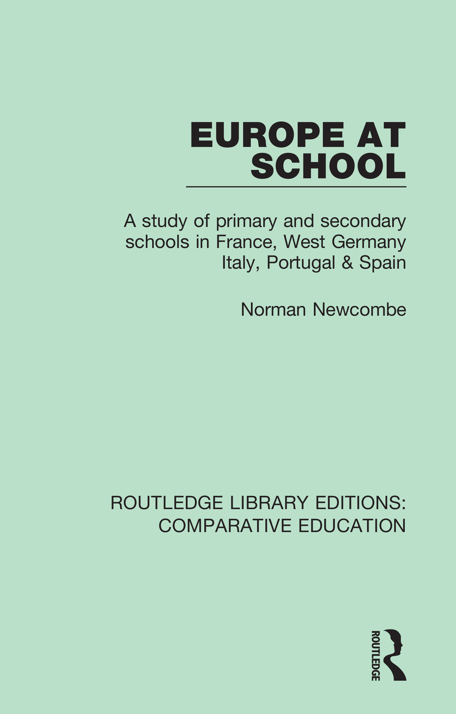 Europe at School: A Study of Primary and Secondary Schools in France, West Germany, Italy, Portugal & Spain book cover