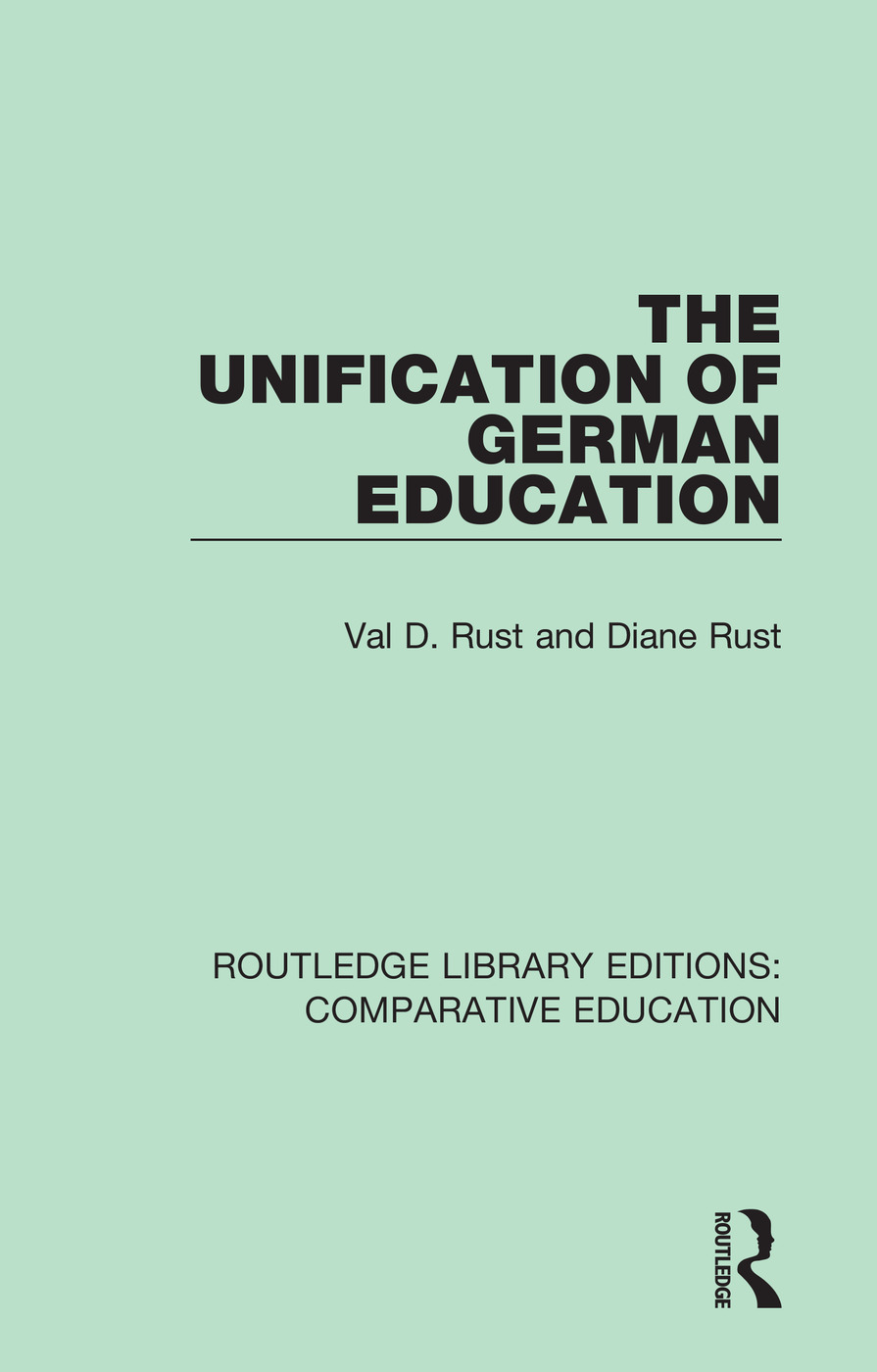 The Unification of German Education book cover