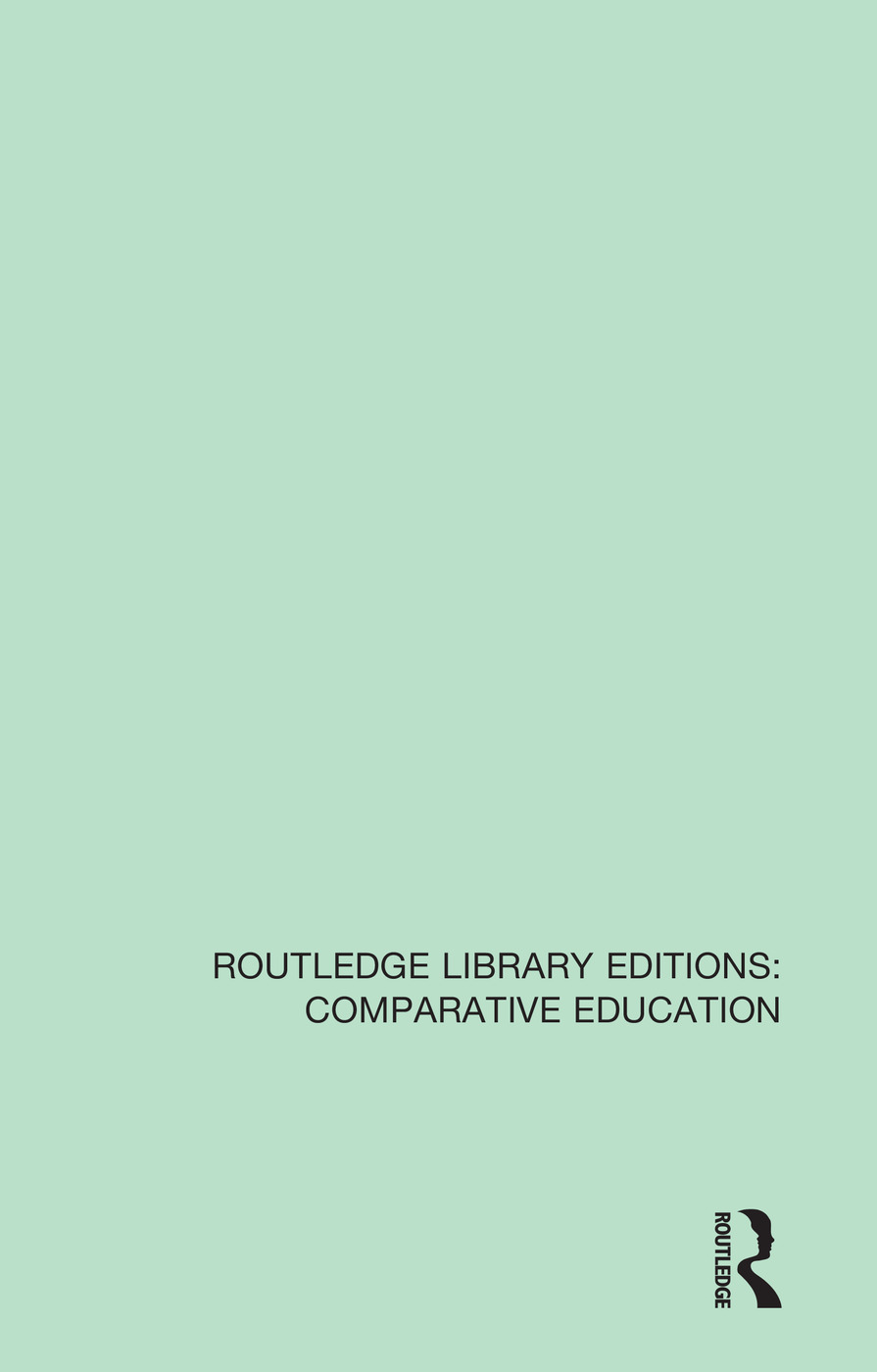 Contemporary Issues in Comparative Education: A Festschrift in Honour of Professor Emeritus Vernon Mallinson book cover