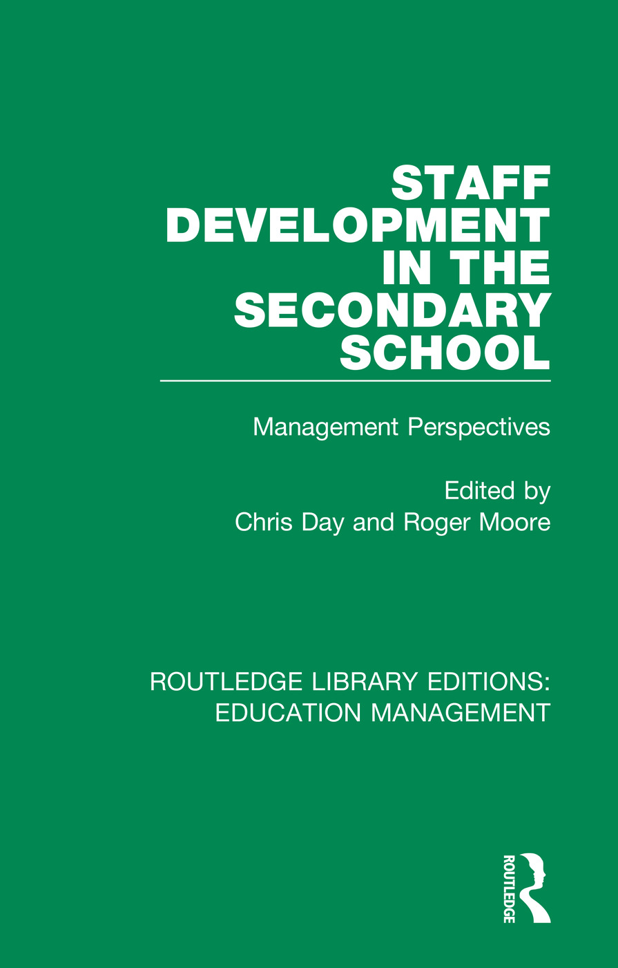 Staff Development in the Secondary School: Management Perspectives book cover