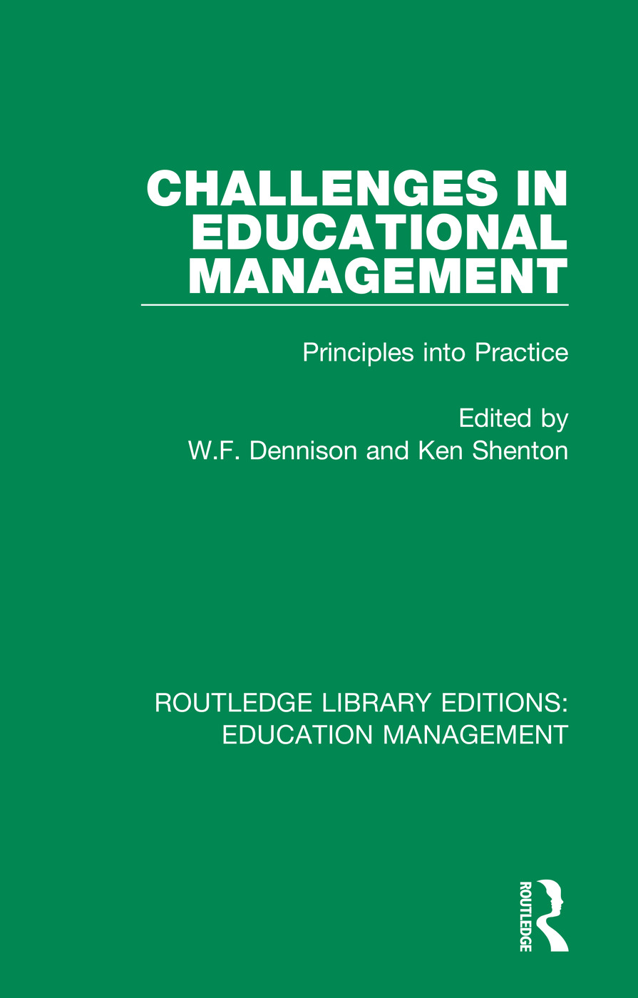 Challenges in Educational Management: Principles into Practice, 1st Edition (Paperback) book cover