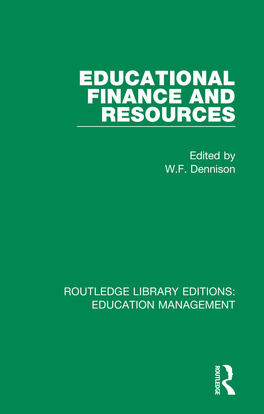 Educational Finance and Resources book cover