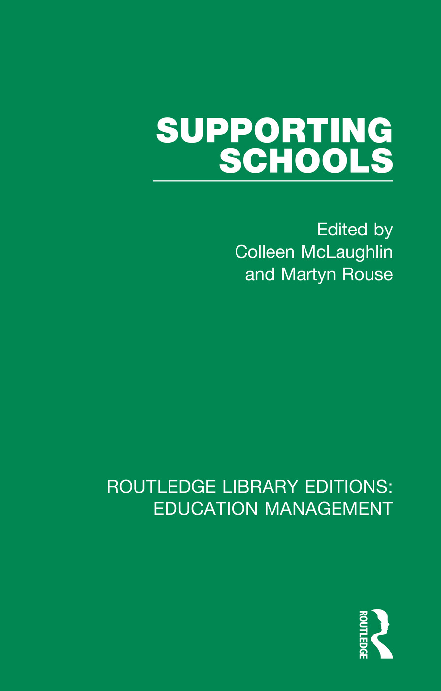 Supporting Schools: Advisory Worker's Role book cover