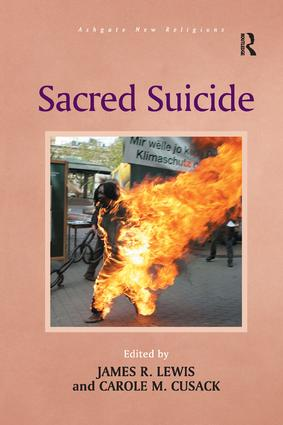Sacred Suicide book cover