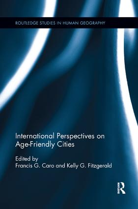International Perspectives on Age-Friendly Cities book cover