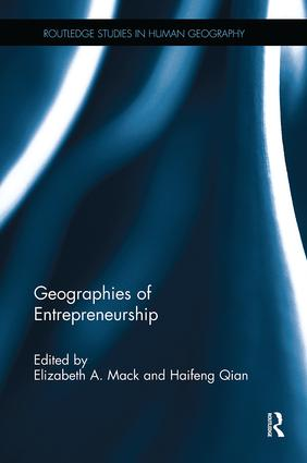 Geographies of Entrepreneurship: 1st Edition (Paperback) book cover