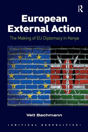 European External Action: The Making of EU Diplomacy in Kenya book cover