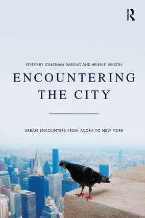 Encountering the City: Urban Encounters from Accra to New York book cover