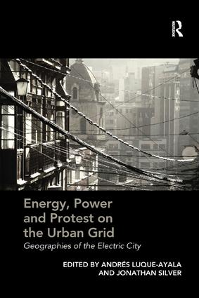 Energy, Power and Protest on the Urban Grid: Geographies of the Electric City, 1st Edition (Paperback) book cover