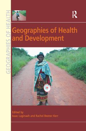 Geographies of Health and Development: 1st Edition (Paperback) book cover