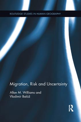 Migration, Risk and Uncertainty: 1st Edition (Paperback) book cover