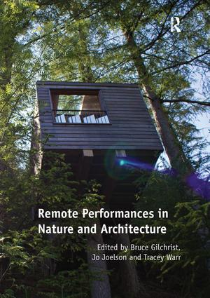 Remote Performances in Nature and Architecture book cover