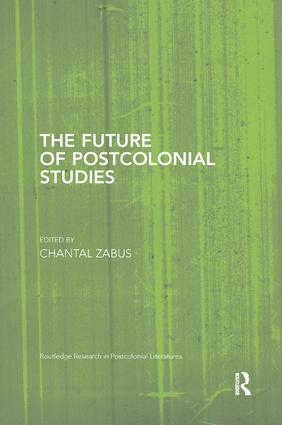 The Future of Postcolonial Studies book cover