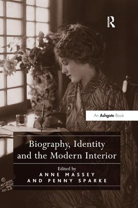Biography, Identity and the Modern Interior book cover