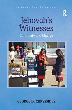 Jehovah's Witnesses: Continuity and Change book cover