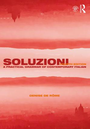 Soluzioni: A Practical Grammar of Contemporary Italian book cover