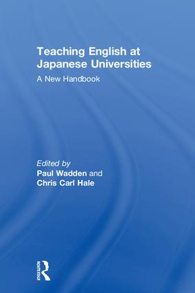 Teaching English at Japanese Universities: A New Handbook book cover