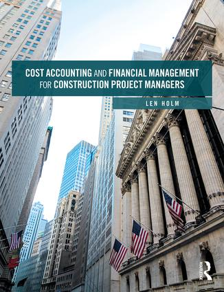 Cost Accounting and Financial Management for Construction Project Managers book cover