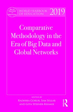 World Yearbook of Education 2019: Comparative Methodology in the Era of Big Data and Global Networks book cover