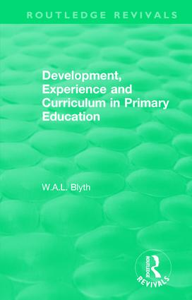 Development, Experience and Curriculum in Primary Education (1984): 1st Edition (Hardback) book cover