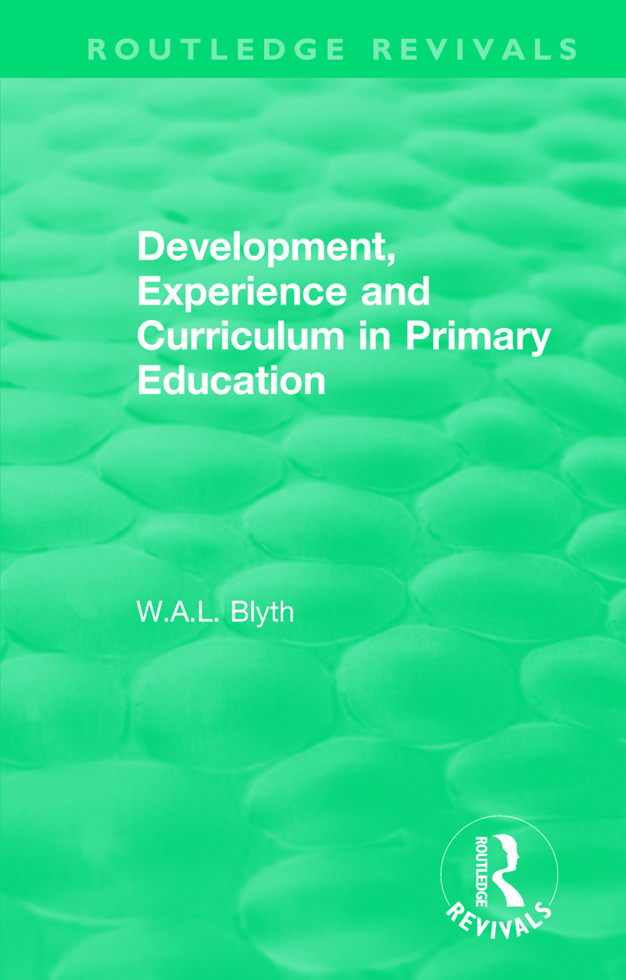 Development, Experience and Curriculum in Primary Education (1984) book cover