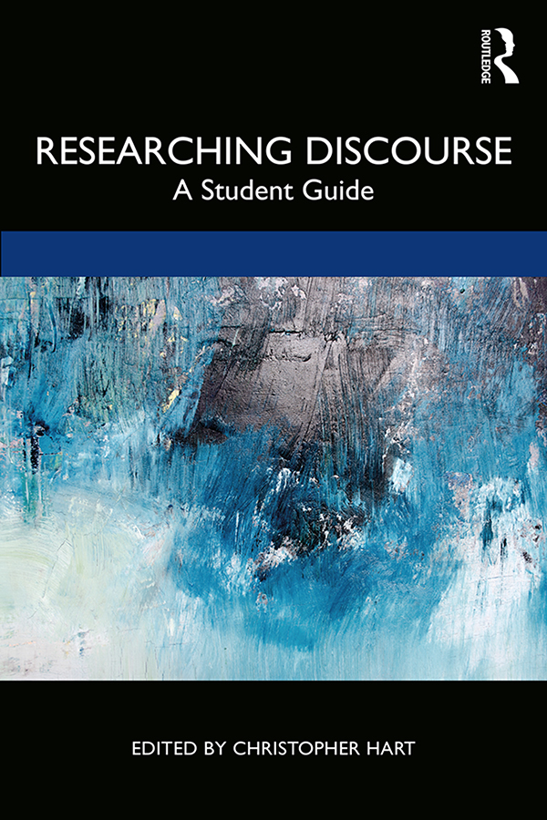 Researching Discourse: A Student Guide book cover