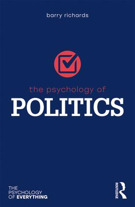 The Psychology of Politics: 1st Edition (e-Book) book cover