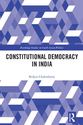Constitutional Democracy in India: 1st Edition (Hardback) book cover