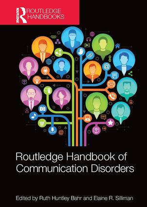 Routledge Handbook of Communication Disorders: 1st Edition (Paperback) book cover