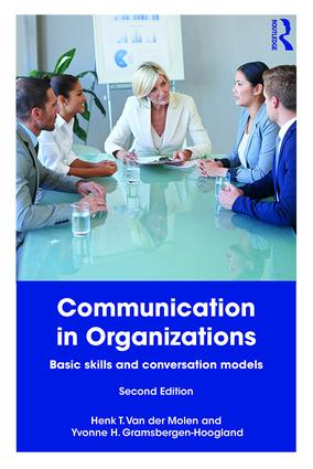 Communication in Organizations: Basic Skills and Conversation Models book cover