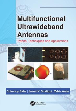 Multifunctional Ultrawideband Antennas: Trends, Techniques and Applications, 1st Edition (Hardback) book cover