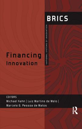 Financing Innovation: BRICS National Systems of Innovation, 1st Edition (Paperback) book cover