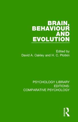 Brain, Behaviour and Evolution book cover