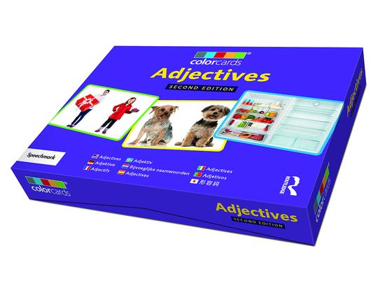 Adjectives: Colorcards: 2nd Edition, 2nd Edition (Flashcards) book cover