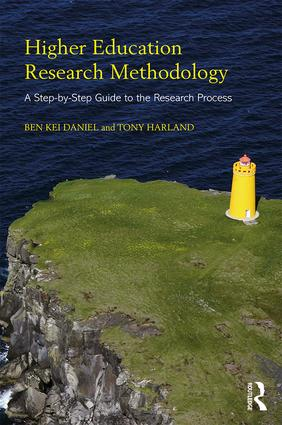 Higher Education Research Methodology: A Step-by-Step Guide to the Research Process book cover