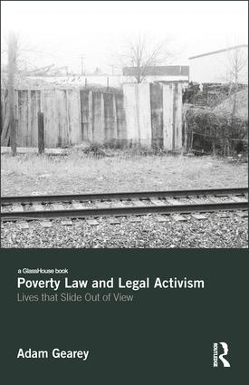 Poverty Law and Legal Activism: Lives that Slide Out of View book cover