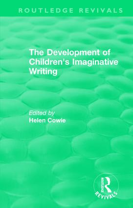 The Development of Children's Imaginative Writing (1984) book cover