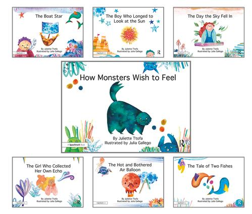 How Monsters Wish to Feel and other picture books: Seven Storybooks Set book cover