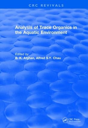Revival: Analysis of Trace Organics in the Aquatic Environment (1989) book cover