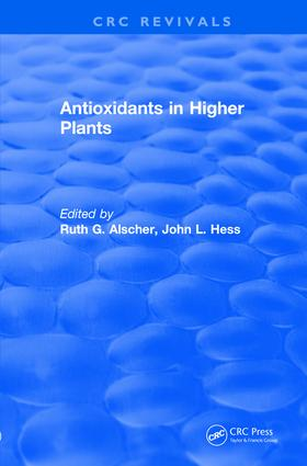 Revival: Antioxidants in Higher Plants (1993) book cover