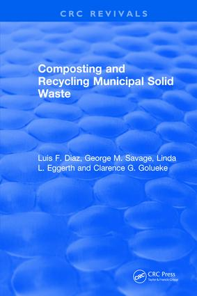 Revival: Composting and Recycling Municipal Solid Waste (1993): 1st Edition (Paperback) book cover