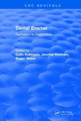 Revival: Dental Enamel Formation to Destruction (1995) book cover