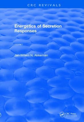 Revival: Energetics of Secretion Responses (1988): Volume I book cover