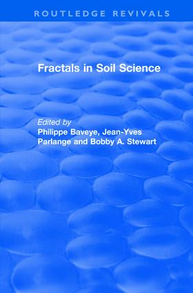 Revival: Fractals in Soil Science (1998): Advances in Soil Science book cover