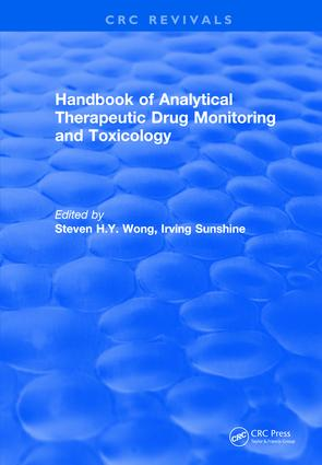 Revival: Handbook of Analytical Therapeutic Drug Monitoring and Toxicology (1996) book cover