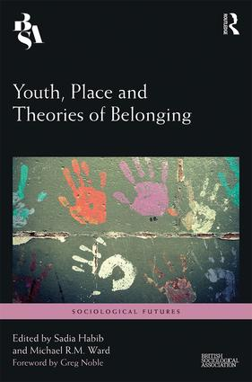 Youth, Place and Theories of Belonging book cover